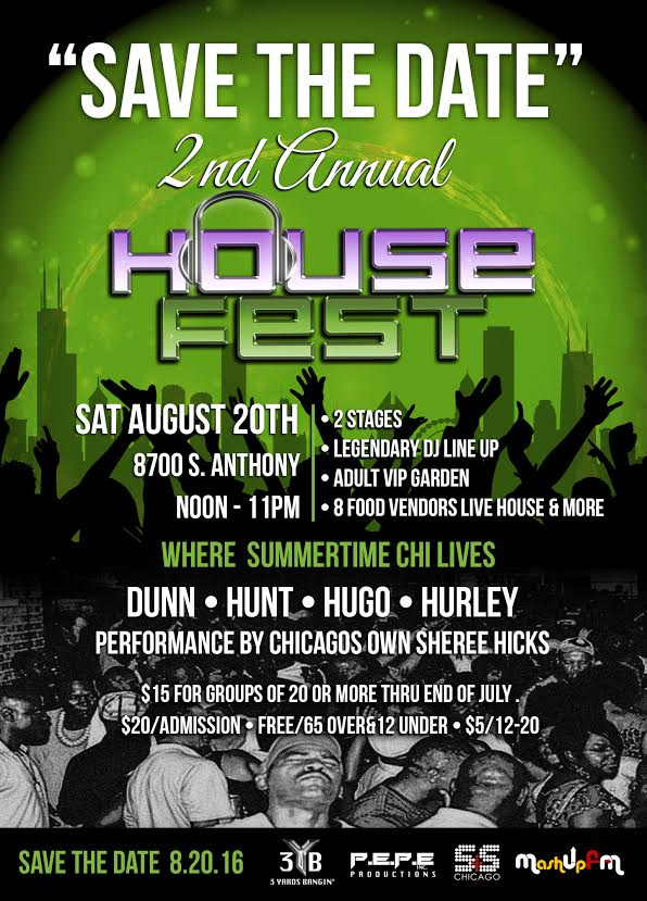 2nd Annual House Fest 3YB (Chicago)