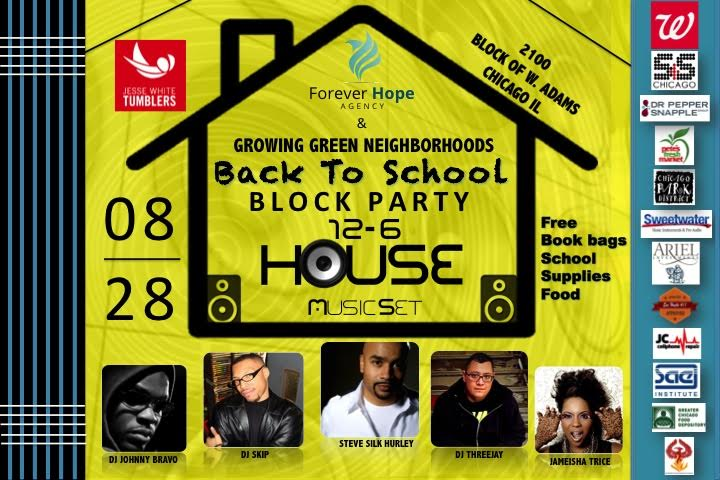 Forever Hope Agency Back To School Block Party (Chicago)