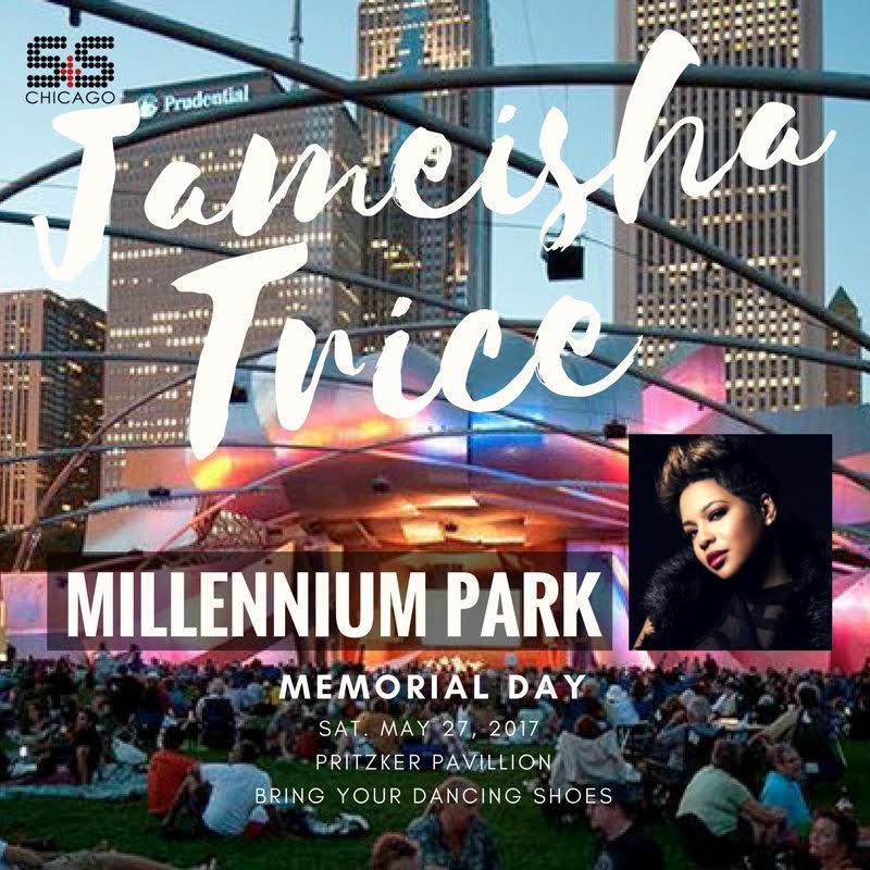 Jameisha Trice Live @ Millennium Park (Chicago)