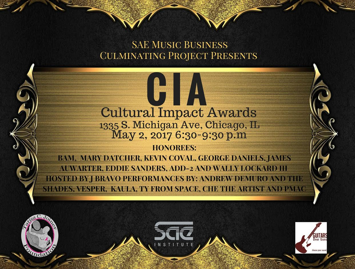 SAE Music Business Culminating Project Presents The Cultural Impact Awards
