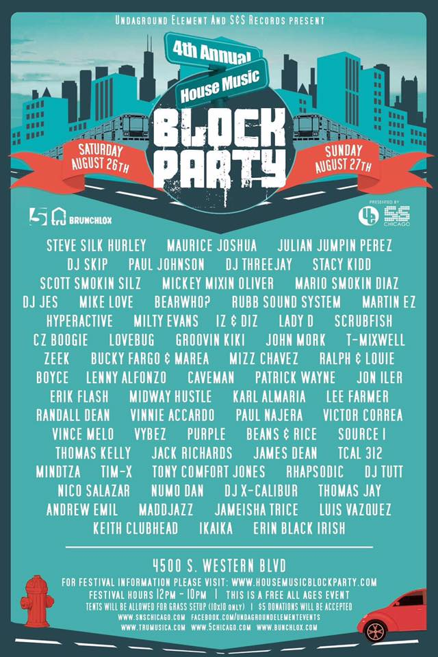 House Music Block Party