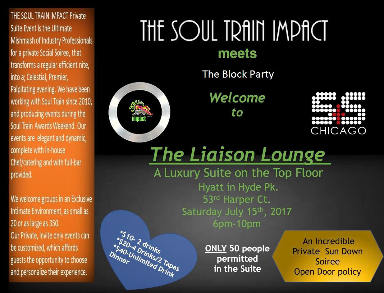 The Soul Train Impact Private Event