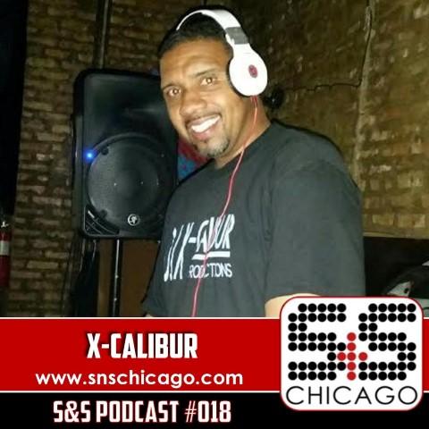 S&S Podcast 018 - DJ X-Calibur