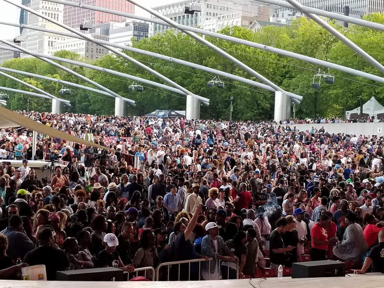 City of Chicago :: Millennium Park - Chicago House Music Party