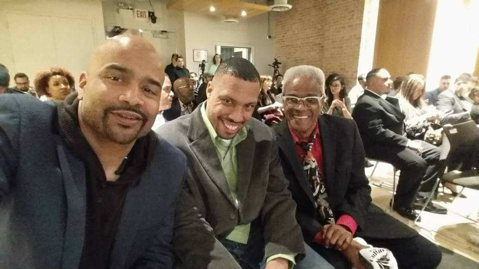 Steve &quote;Silk&quote; Hurley & Shannon &quote;DJ Skip&quote; Syas at SAE Cultural Impact Awards